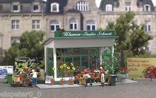 Busch 1049, Tienda De Flores, H0 Construcción Modelos En Miniatura, 1:87