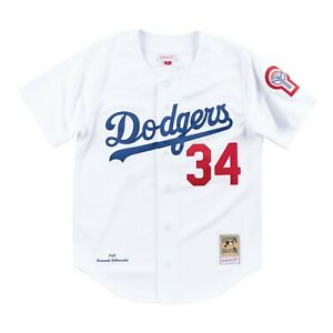 Fernando Valenzuela #34 Los Angeles Dodgers Authentic Jersey by Mitchell & Ness