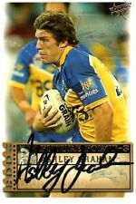 Autograph Parramatta Eels Modern (1970-Now) NRL & Rugby League Trading Cards
