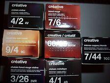 TIGI Creative Colour Hair Dye Color Cream 60ml More Colors in Shop 66/65 66rm Intense Red Mahogany Dark Blonde