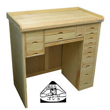 Watchmakers & Jewelers Workbench made of Solid Wood Beautiful Bench New