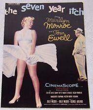Postcard Marilyn Monroe The Seven Year Itch #110-002  Unpost B1G2F