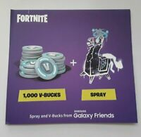 Samsung Galaxy Fortnite Llama Spray + 1000  V-Bucks  ** CODE ONLY **