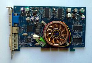 Abit Siluro nVidia GeForce4 TI4200 128MB AGP VGA Card - Test OK!