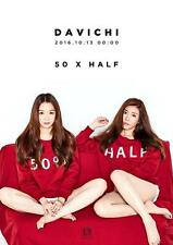 DAVICHI-[50 X HALF] 5th Mini Album CD+Photo Book K-POP Sealed