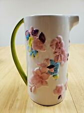 Full Bloom Hand Painted Pitcher by Avon