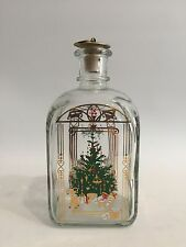 Holmegaard Glas Weihnachtsflasche Jule Flaske Design Denmark Flasche Bottle +++