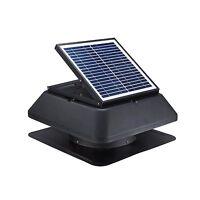 Solar Attic Fan Roof Mounted Solar Powered Gable Attic Vent Fan 20W 1750CFM