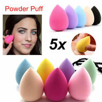 5pc Makeup Sponge Blender Blending Powder Smooth Puff Flawless Beauty Foundation