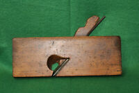 "Antique Vintage Sandusky Tool Co Ohio 7/8"" Skewed Rabbit Moulding Plane Inv#EB55"