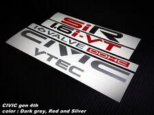 STICKER CIVIC & CRX SiR 1.6 set