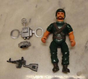 Vintage 1983 Remco Chutes Action Figure Sarge Team W/accessories