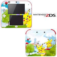 Vinyl Skin Decal Cover for Nintendo 2DS - Pokemon Pikachu