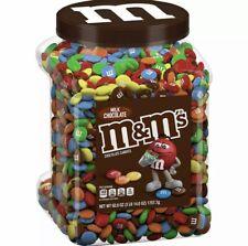 M&M's Milk Chocolate Candies Pantry Size Jar 62 oz - January 2021