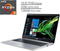 "🔥 2021 New Acer Aspire 5 Slim 15.6"" AMD Ryzen 3/4GB/128GB SSD/Vega3 Backlit KEY"