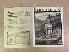 POLYHEDRON 1983 Issue 17 Volume 4 Number 2 RPGA Network TSR Newszine #T941