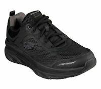 Walker Skechers Black Shoes Men's Memory Foam Cushion Sport Comfort Mesh 232044