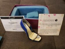 Just The Right Shoe by Raine Shoe Miniatures- Engaged Pre-owned in box