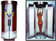 tanning booth factory new in box Mega V 42 lamps 160 watt with mirrored doors