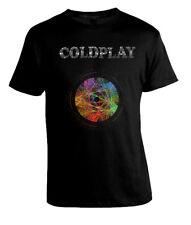 Coldplay Rock Band Colour Galactic Men T-shirt