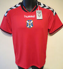 NEW Red Hummel CD Tenerife Football Shirt Training Jersey Maglia Camiseta S