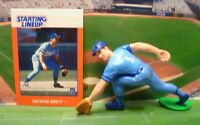 1988  GEORGE BRETT - Starting Lineup Baseball Figure & Card - KANSAS CITY ROYALS