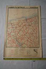 AF1 Carte - Champs de Bataille - Ed Perin - DUNKERQUE - WW1 WW2 Planche 20