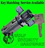 Chevy GMC Ignition Key Switch Lock Cylinder Tumbler Barrel Chrome 2 Keys