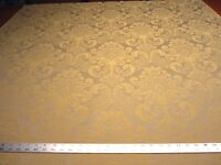 5 yards Robert Allen Heartwood Zest damask upholstery/drapery fabric r2957