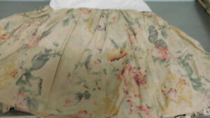 """Vintage FRANCESCA Queen Bed Skirt   Ralph Lauren-Super Clean-15"""" Drop"""