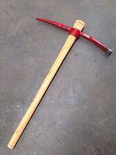 Pick Axe Mattock 2kg , 91cm Long Wooden Handle Gardening Hoe Digging Tools
