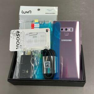 Samsung Galaxy Note9 Purple SM-N960N 512GB Unlocked Single sim Screen Burn-in
