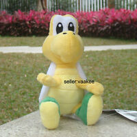 "Nintendo Super Mario Bros Green Troopa Koopa 6"" Turtle Plush Toy Stufed Doll"