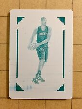 2016-17 National Treasures Marvin Williams (1/1) Cyan Printing Plate Hornets