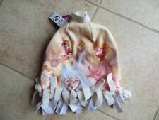 Disney Princess Toddler Girl's Yellow Princess Beanie Hat Sz. 5-7T NEW with tags
