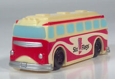Six Flags Great America Old Time Style Amusement Park Bus Viewmaster Toy