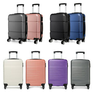 20 inch Easyjet Hand Cabin 4 Wheels Spinner Trolley Luggage Suitcase Case Bag