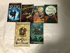6x Kids/Young Adult Spooky Books Percy Jackson Spooks Secret Young Werewolf