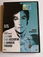 L'UOMO CHE UCCIDEVA A SANGUE FREDDO DVD COME NUOVO Alain Delon Annie Girardot