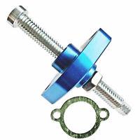 NEW BLUE MANUAL CAM CHAIN TENSIONER 1986-2013 HONDA CRF450R 250R 150F XR650R
