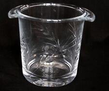 seau à glaçons  en cristal d'arques modèle Epi fleury