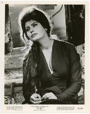 Italian Icon Sophia Loren Beautiful 1961 Original El Cid Production Photograph