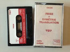 THOMSON TO7 FRISE + SYMETRIE TRANSLATION
