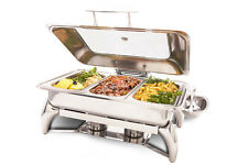 PrestoWare PWI-625, 8-Quart Chafing Dish with Stand