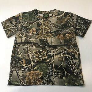 CABELAS FOR KIDS SECLUSION 3D CAMOUFLAGE SHIRT YOUTH Sz SMALL