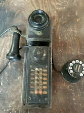 Rare Antique Western Electric Oak Wall Type 308A Switch Board Hotel Telephone