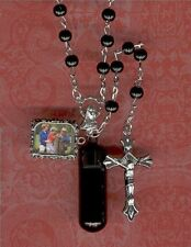 S1,Rosary,Jewelry Urn,Memorial Urn,Small Urn,Cremation Urn,Key Chain Urn