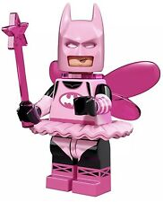 LEGO PINK FAIRY BATMAN MINIFIGURE THE MOVIE MINIFIGURES SERIES 71017 #3 Lot