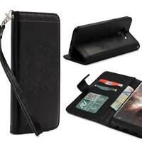 Samsung Galaxy S8 Wallet Klapp Schutz Hülle Stand Flip Case Cover Etui Schale