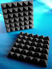 "Soundproofing 2"" Acoustic Studio Pyramid Foam(REMNANT)C (40PK) 12x12"